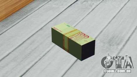 500 Euros para GTA San Andreas terceira tela