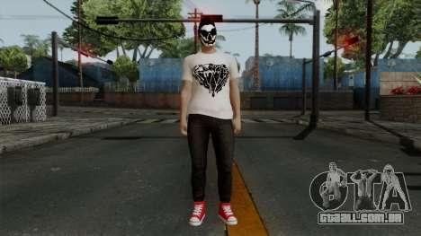 GTA 5 Online Wmydrug para GTA San Andreas segunda tela