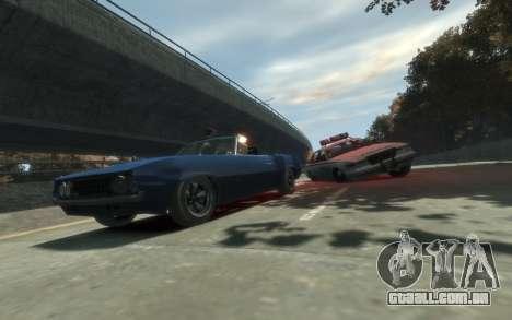 Declasse Vigero Cabrio para GTA 4 traseira esquerda vista