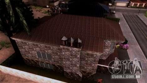 A mansão em estilo de Scarface para GTA San Andreas terceira tela