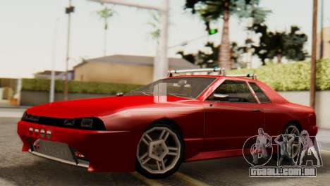 Elegy Korch Stock Wheel para GTA San Andreas vista direita