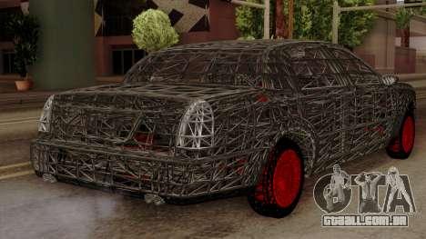 Kerdi Design Washington Roll Cage para GTA San Andreas esquerda vista