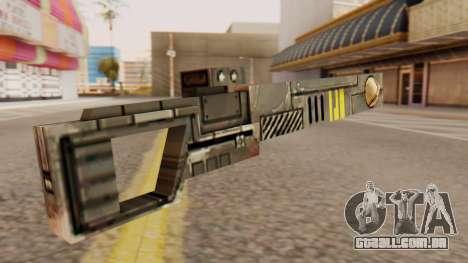 Warhammer Sniper Rifle para GTA San Andreas segunda tela