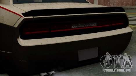 Dodge Challenger GT S para GTA San Andreas vista direita