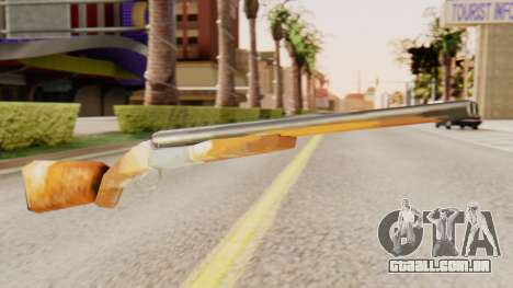 Versão completa duplo espingardas para GTA San Andreas