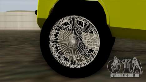 GTA 4 Airtug HQS para GTA San Andreas traseira esquerda vista