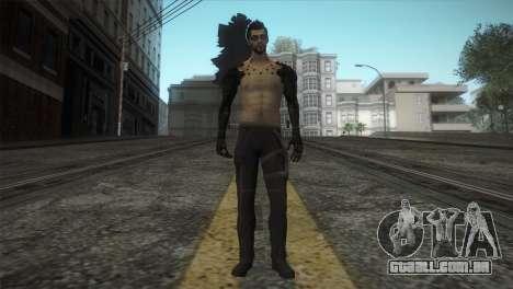 Adam Jensen para GTA San Andreas segunda tela