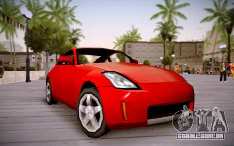 Nissan 350Z SA Style para GTA San Andreas
