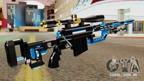 Fulmicotone Sniper Rifle para GTA San Andreas segunda tela