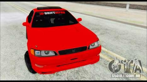 Toyota Mark 2 90 Stock2 para GTA San Andreas