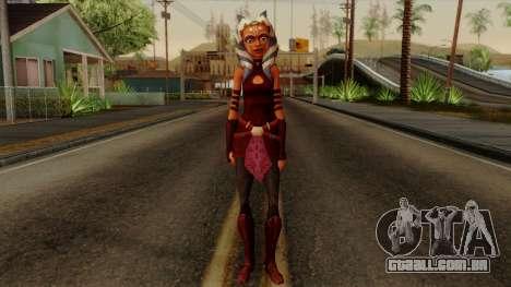 Ahsoka Tano Star Wars para GTA San Andreas segunda tela