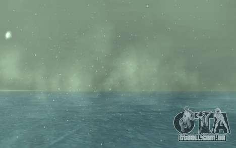Inverno Timecyc para GTA San Andreas sexta tela