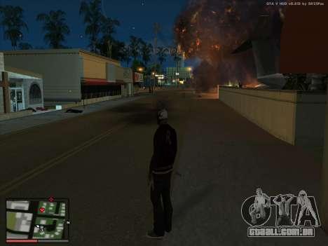 Loucura, no estado de San Andreas. Beta. para GTA San Andreas segunda tela