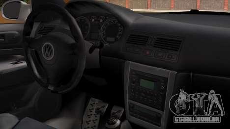 Volkswagen Golf R32 JDM Itasha para GTA San Andreas vista direita
