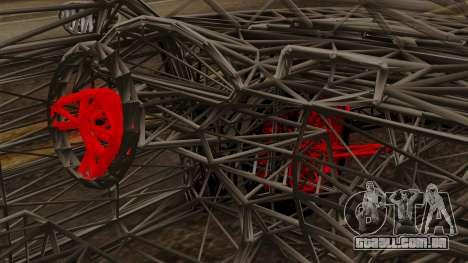 Kerdi Design Washington Roll Cage para GTA San Andreas vista direita