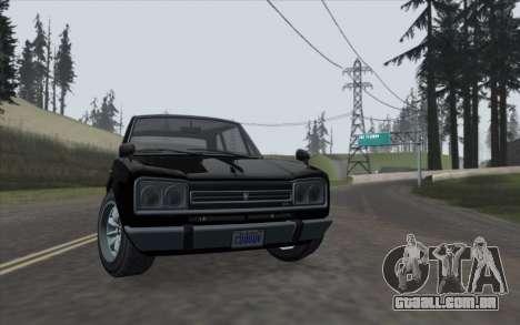 ENBSeries For Low PC v5.0 para GTA San Andreas
