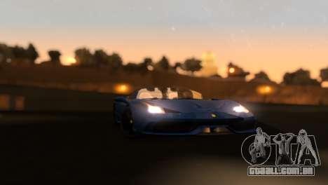 ENB Zix 3.0 para GTA San Andreas quinto tela