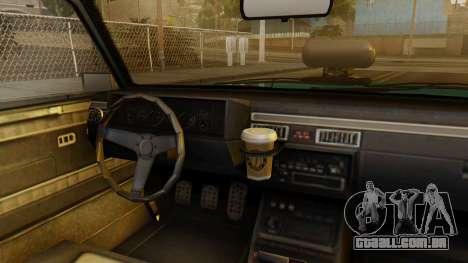 GTA 5 Albany Manana IVF para GTA San Andreas vista direita