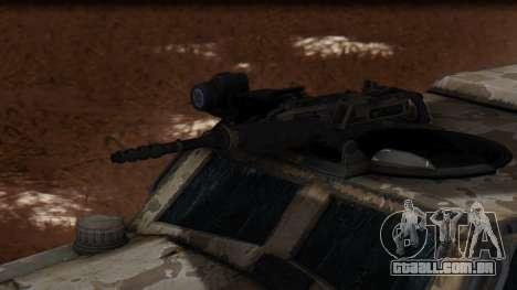BAE Systems JLTV Extra Skin para GTA San Andreas vista direita