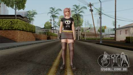 RE Dead Or Alive 5LR - Honoka C5 para GTA San Andreas segunda tela