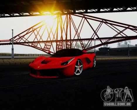 ENB for Low PC para GTA San Andreas por diante tela