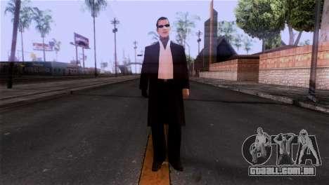 A pele da máfia para GTA San Andreas segunda tela
