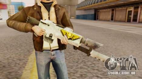 Warhammer M4 para GTA San Andreas terceira tela