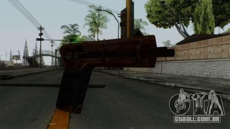 Samopal para GTA San Andreas segunda tela