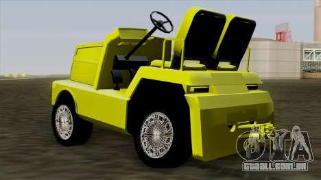 GTA 4 Airtug HQS para GTA San Andreas esquerda vista
