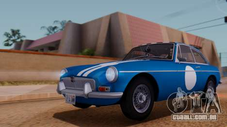MGB GT (ADO23) 1965 HQLM para GTA San Andreas vista inferior