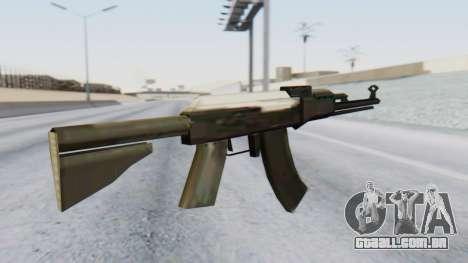 Arsenal AKM para GTA San Andreas segunda tela