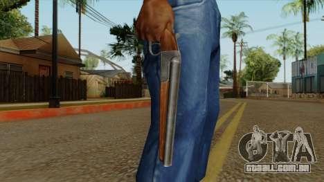 Original HD Sawnoff Shotgun para GTA San Andreas terceira tela