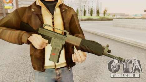 SPAS 15 para GTA San Andreas terceira tela