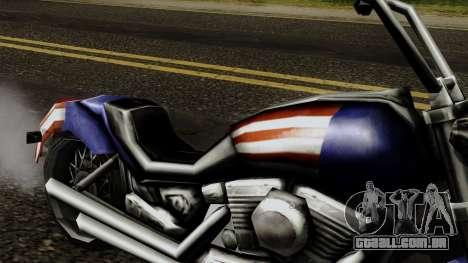 Freeway Angel para GTA San Andreas vista direita