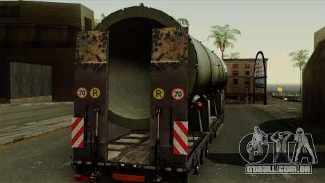 Trailer Cargos ETS2 New v3 para GTA San Andreas vista direita