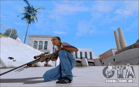 AWP Carbone Edition para GTA San Andreas terceira tela