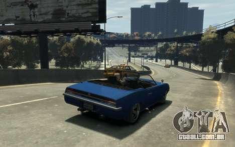 Declasse Vigero Cabrio para GTA 4 vista de volta