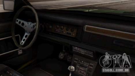 GTA 5 Albany Esperanto para GTA San Andreas vista direita