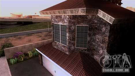 A mansão em estilo de Scarface para GTA San Andreas por diante tela