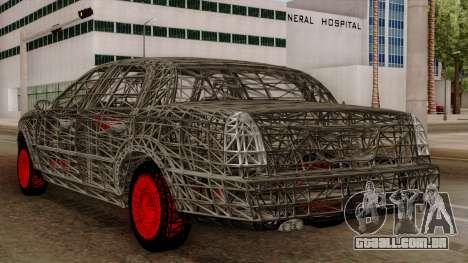 Kerdi Design Washington Roll Cage para GTA San Andreas vista traseira