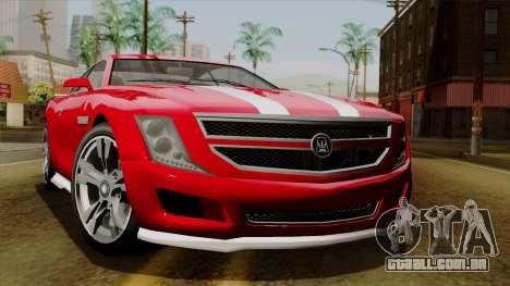 GTA 5 Albany Alpha v2 para GTA San Andreas