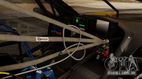 Chevrolet Corvette C7R GTE 2014 PJ2 para GTA San Andreas vista direita