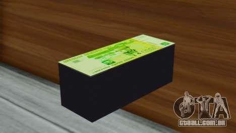 3000 Rublos para GTA San Andreas segunda tela