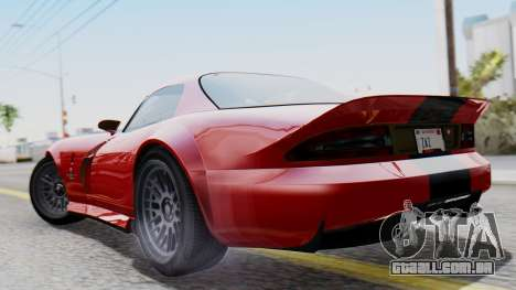 GTA 5 Banshee Dirt para GTA San Andreas esquerda vista
