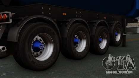 Trailer Tohap para GTA San Andreas traseira esquerda vista