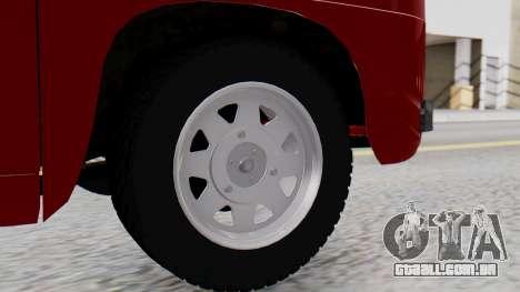 Dacia 1100 Sport para GTA San Andreas traseira esquerda vista