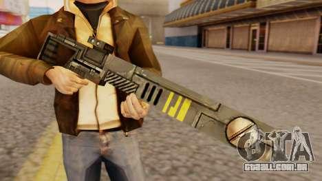 Warhammer Sniper Rifle para GTA San Andreas terceira tela