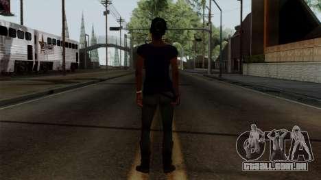 Rochelle New Textures para GTA San Andreas terceira tela