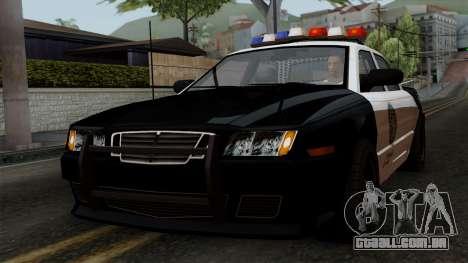GTA 5 LS Police Car para GTA San Andreas