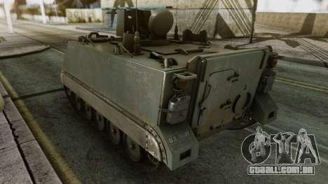PGZ-95 Radar (Type 95) para GTA San Andreas traseira esquerda vista